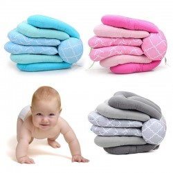 Baby multifunction feeding pillow - adjustable height