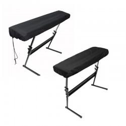 Custodia protettiva per pianoforte elettronico con cordoncini - 61/88 tasti