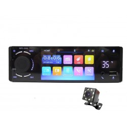 "Bluetooth - 1 Din - 4"" touch screen - MP5 video player - USB - TF - Handsfree A2DP - car radio"