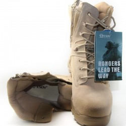 Special Force - military - leather desert boots
