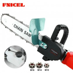 Upgrade 115inch Electric Chainsaw Bracket Adjustable Universal M10M14M16 Chain Saw Part Angle Gri