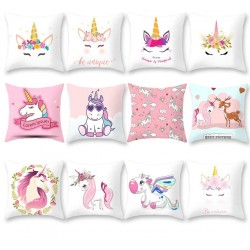 Cushion cover with unicorn - pillowcase 45 * 45cm