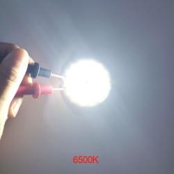 3V 4V Round COB LED Light 50mm Diameter Double Ring Cold White LED Lamp 37V 5W 7W COB Chip Bulb for