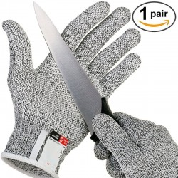 Anti-cut Gloves Safety Cut Proof Stab Resistant Stainless Steel Wire Metal Mesh Kitchen Butcher Cut-