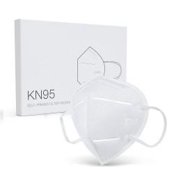 Maschera per il viso KN95 PM2.5 - maschera per la bocca - antibatterica - filtro nano - 5 o 10 pezzi
