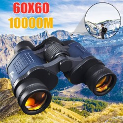 60 * 60 binoculars - high clarity telescope - HD 10000M - night vision - zoom