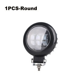 6D lens - 5 inch - 30W 12V - Led light bar - reflector for 4x4 ATV SUV trucks - spot / fog light - halo - driving lights