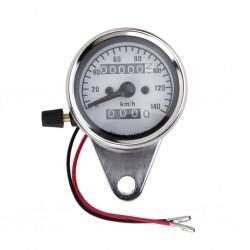 Universal motorcycle dual odometer - speedometer