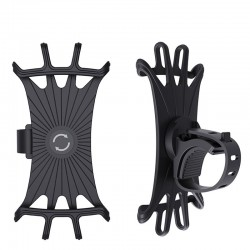 Car - bicycle - motorcycle silicone phone holder - 360 degrees rotatable