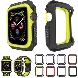 Silicone/Hard Armor Case - Apple Watch
