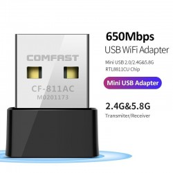 Dual Band Portable Wifi Adapter