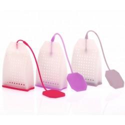Silicone tea bags