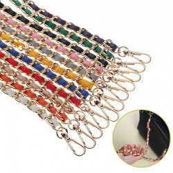 Chain bag straps - 10 colors - ladies - handbags