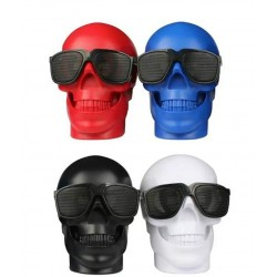 Skull shaped wireless Bluetooth speaker