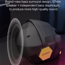 Subwoofer bluetooth speaker - wireless - bluetooth 5.0