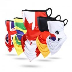 Flag face mask - mesh - ice touch - bandana - scarf