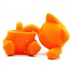 Silicone kitten shaped - tea infuser - reusable - 1pcs
