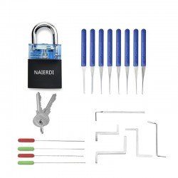 Locksmith supplies - hand tools - lock pick set