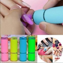 Mini asciuga unghie - torcia - LED - UV - lampada polimerizzante in gel