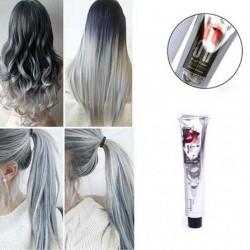 Colorante permanente per capelli in crema - grigio argento fumo - 100ml