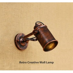 Retro creative wall light - bed room - lamp