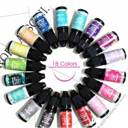 UV gel polish - jewelry - multi colours