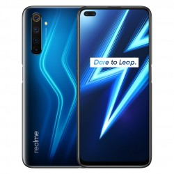 Realme 6 Pro EU Version - dual sim - 6.6 inch - FHD+ - 90Hz - NFC - Android 10 - 64MP - 8GB 128GB - 4G smartphone - blue