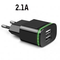 Caricatore USB universale - 2 porte / 4 porte - Luce LED - multi porta