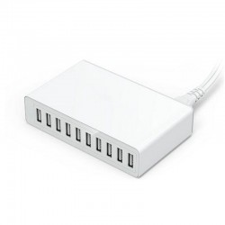 50W - 10 porte USB - Caricatore intelligente - Caricatore rapido