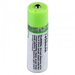 AA - 1.2V - 1450mAh - USB Rechargeable Battery - Quick Charging