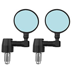 2Pcs - Universal Motorcycle Mirror - Aluminum - Rearview Side Mirrors