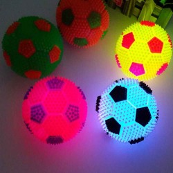 6.5cm - Soccer ball - Led - Glowing Football - Kids