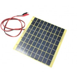 Solar Panel Polysilicon 18V 5W 220mm x 200mm x 2mm
