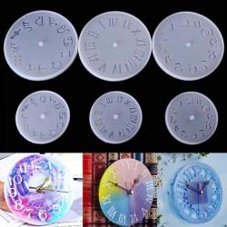 Silicone Mold - Clock - 10/15cm - Resin - Handmade Tool - DIY
