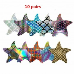 10 pairs - Nipple Covers - Starfish
