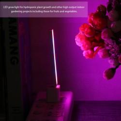 3W/14LED - LED Grow Light - USB - Red & Blue - Hydroponic - Plant Growing - Light Bar