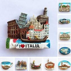 Italy - resin - fridge magnets - toscana - firenze