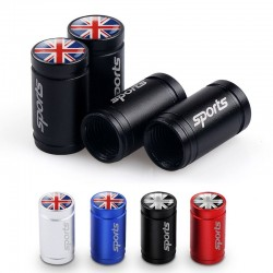 4Pcs - uk national flag - valve caps