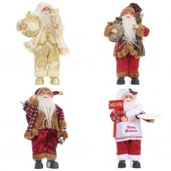 Christmas decoration - Santa Claus - mini cloth doll