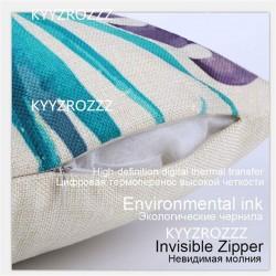 Pillow Case - Cushion Cover - Animal - Elephant - Rhino - Owl