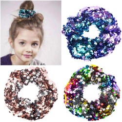 Girls' sequin hair elastic