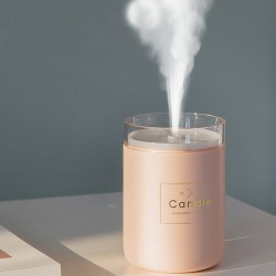 Ultrasonic Air Humidifier - 280ML - Romantic Soft Light