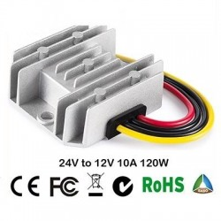 24V to 12V step-down converter 10A - 120W / 20A - 240W