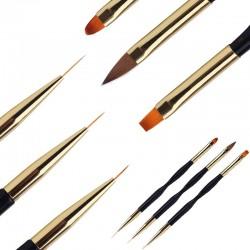 Double End - Nail Brush - Salon - Manicure Tools