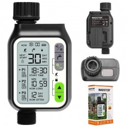 Rain sensor - irrigation timer - lcd screen