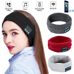 Bluetooth sports headband - stereo headphones - wireless