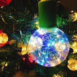 E27 1,7W - Lampadina LED RGB - dimmerabile - Decorazione natalizia