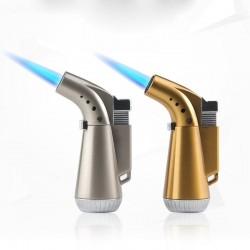 BBQ / cigarettes / kitchen - metal turbo lighter - butane gas - 1300 C - windproof