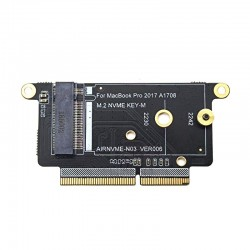 """A1708 - SSD - NVMe PCI Express PCIE to NGFF M2 SSD adapter card - M.2 for Macbook Pro Retina 13"""""""