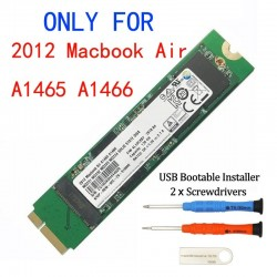 128GB - 256GB - 512GB - 1TB - SSD for Macbook Air A1465 A1466 Md231 Md232 Md223 Md224 - solid state drive